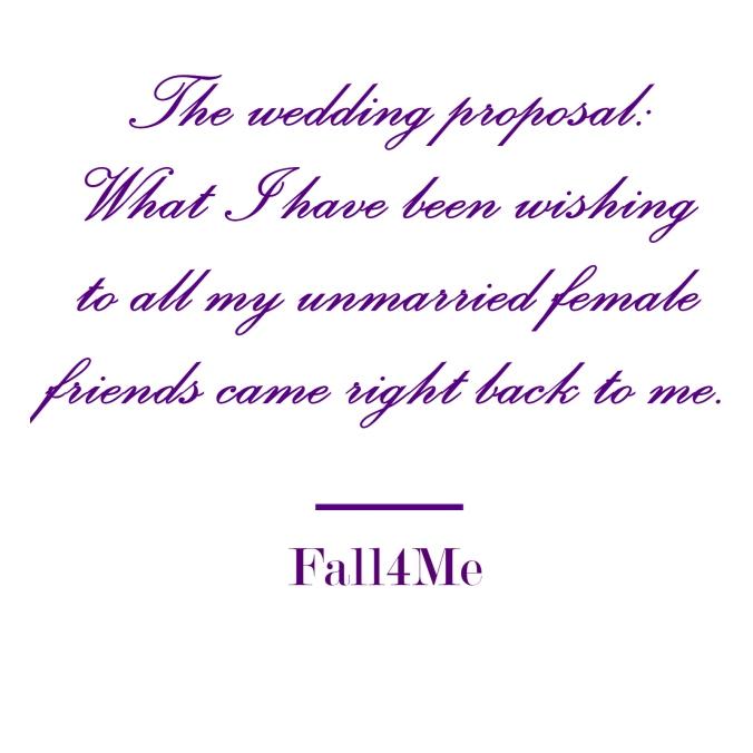 Fall4Me wedding rule engagement